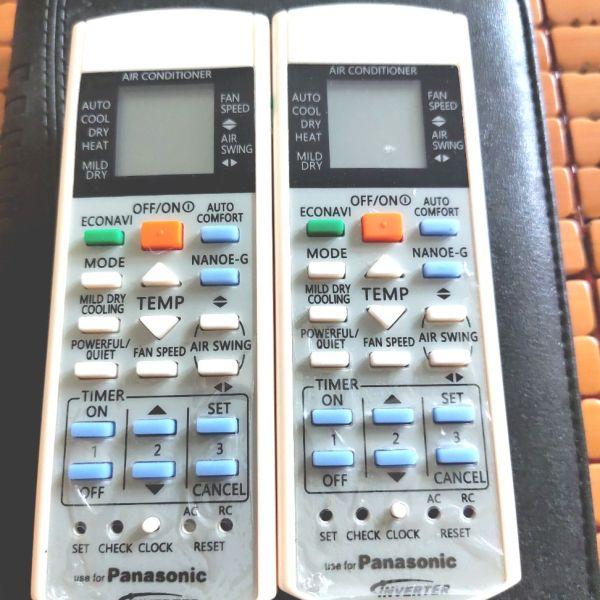 Bảng giá Remote điều khiển điều hoà không khí Panasonic loại Invector