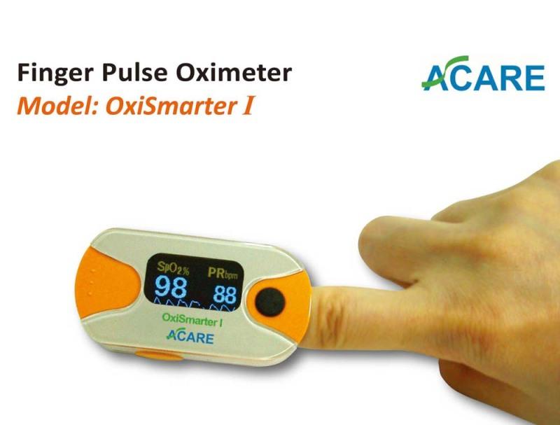 Máy đo nồng độ oxy bão hòa trong máu và nhịp xung Acare OxiSmarter I AE-02 bán chạy