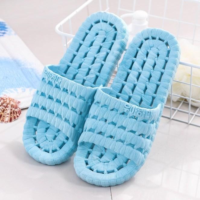 Dép đi trong nhà nam nữ chống trơn trượt dép lê nữ xốp nhiều lỗ đi trong nhà vệ sinh nhà tắm siêu êm siêu bền VHN1899 giá rẻ