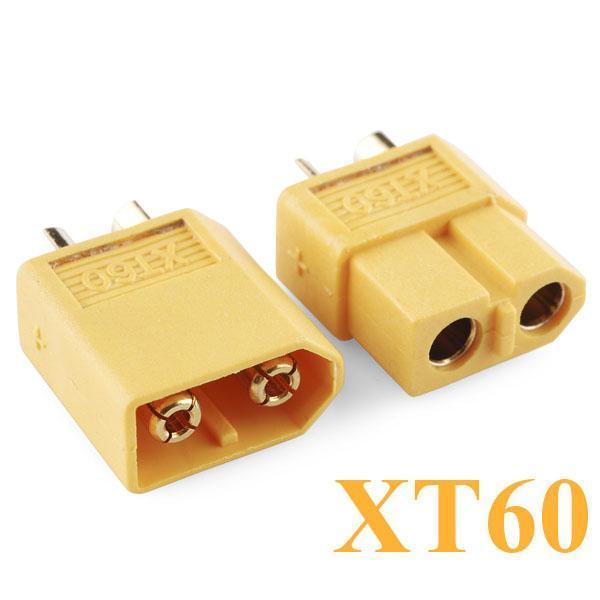 Jack cắm XT60 (Jack cắm điện 1 chiều dòng cao 60A)