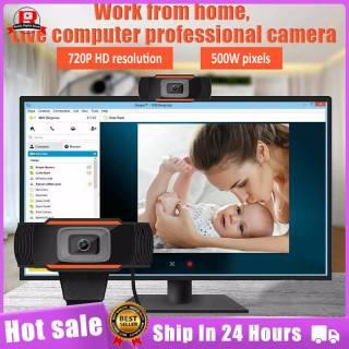 Remix Digital Store Webcam Full HD 1080P 480P USB Có Micrô Camera Máy Tính Mini Xoay Linh Hoạt Dành Cho Máy Tính Xách Tay Webcam Để Bàn Camera Web Giáo Dục Trực Tuyến Cho Máy Tính Cá Nhân Có MIC Cho Máy Tính thumbnail