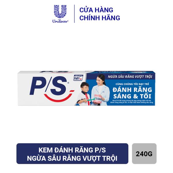 Kem Đánh Răng P/S Ngừa sâu răng vượt trội 240g giá rẻ