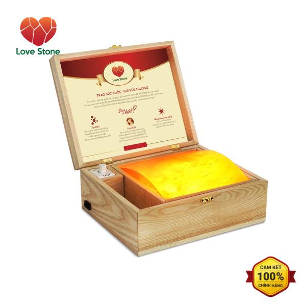 Hộp Đá Muối Massage Chân Himalaya Love Stone Deluxe  (Đá cong)