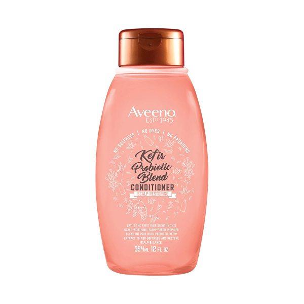 Dầu xả thiên nhiên phục hồi da đầu hư tổn AVEENO Kefir Probiotic Blend Shampoo 354ml (Mỹ)