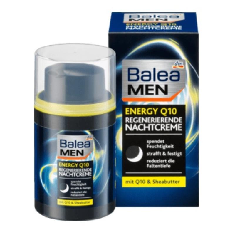 THANH Lý - Kem đêm chống lão hóa cho nam Balea Men Energy Q10 50ml - Đức (HSD: 01-2021) giá rẻ