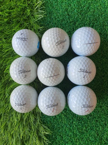 10 quả Bóng Golf - Titleist - HonMa - Callaway - Taylormade - Sixon - Voivik vv..