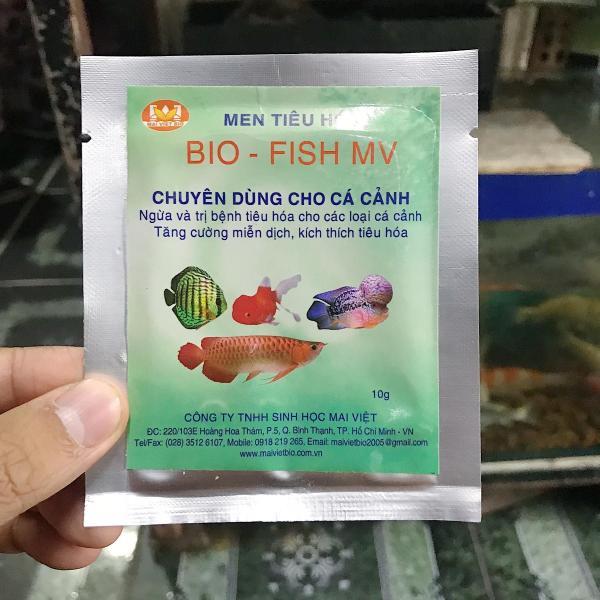 MEN TIÊU HÓA BIO FISH NGỪA HỖ TRỢ CÁC VẤN ĐỀ ĐƯỜNG RUỘT CÁ