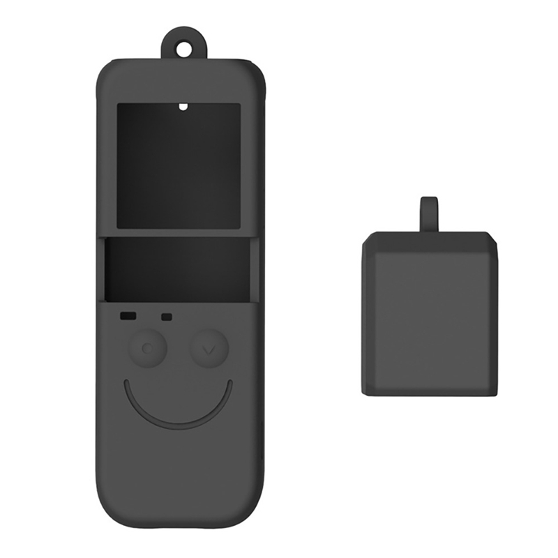 for Osmo Pocket 2 Soft Silicone Gel Body Protective Cover for DJI OSMO POCKET Handheld Gimbal Camera Protector