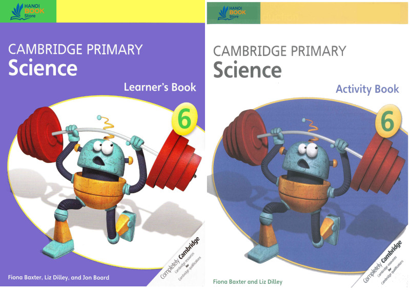 bộ sách 2 quyển Cambridge Primary Science 6 Learners Book & Activity Book - Hanoi bookstore
