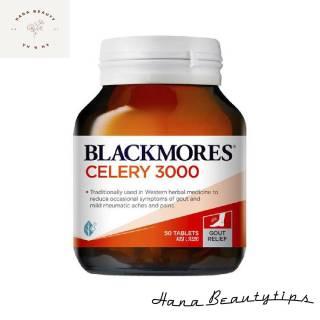 [ Hàng Chính Hãng Úc ] Viên uống phòng và hỗ trợ bệnh gout Blackmores celery 3000mg 50 viên thumbnail