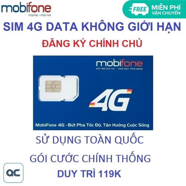 [HCM]Sim tỷ GB mobifone 500 phút nội mạng 30 phút liên mạng không có tài khoản miễn phí vận chuyển 1104