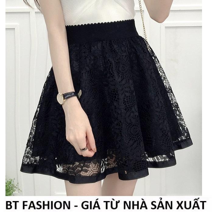 Lazada Giảm Giá Khi Mua Chân Váy Xòe Ren Duyên Dáng Thời Trang Hàn Quốc - BT Fashion (VA1- RV)