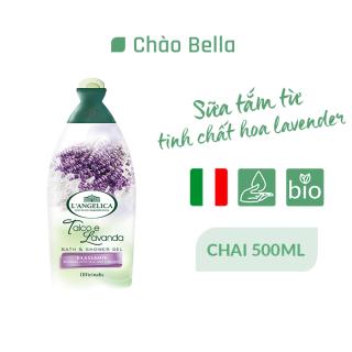 Sữa Tắm Mềm Mịn Da Hương Lavender Bath&Shower Gel - Talc & Lavender- 500ml - chaobella thumbnail
