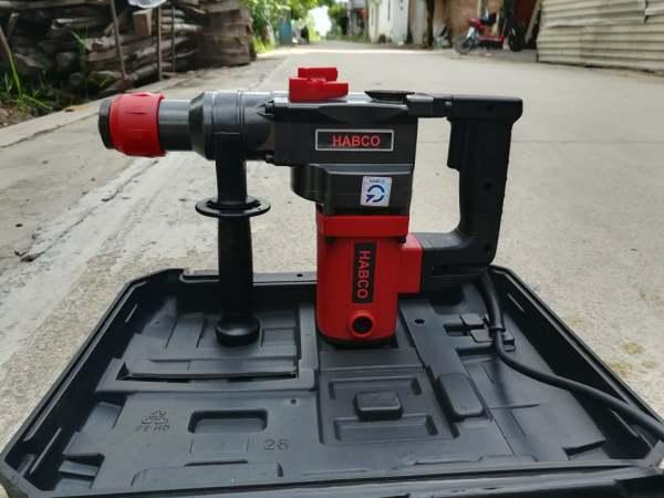 máy khoan đục HABCO 900w ( chuyên dùng cho các công trình lớn và nhỏ )