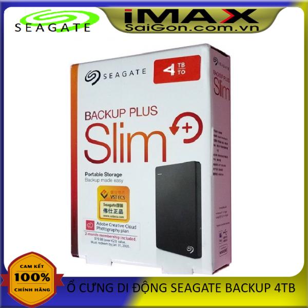 Bảng giá Ổ cứng di động Seagate Backup Plus Slim 4TB Phong Vũ