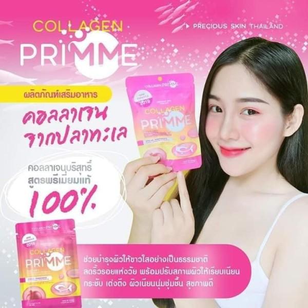 Viên Uống Mờ Nám Trắng Da Collagen Primme Thái Lan giá rẻ