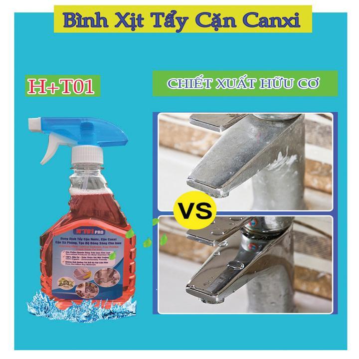 Nước Tẩy Cặn Canxi Inox Ht01, Kim Loại, Tạo độ Sáng Cho Inox By Tvs Ha Noi Group.