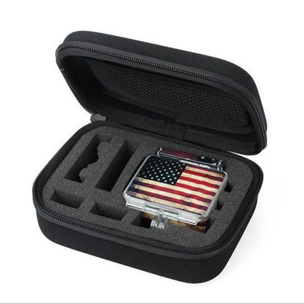 Giá Hộp đựng phụ kiện máy quay hành động GoPro, Sjcam - Size S