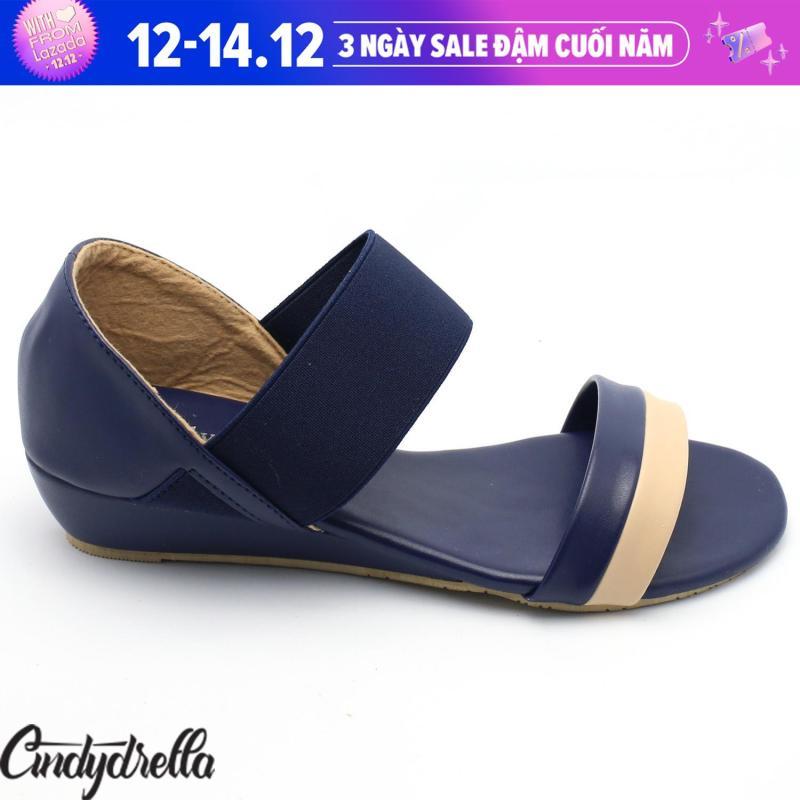 Sandal Thun 2 màu nữ cao gót Cindydrella P03