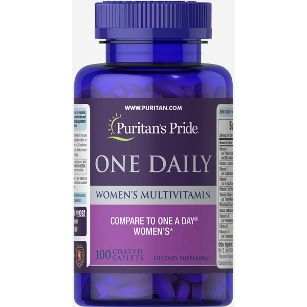 One daily women puritan pride 100 viên