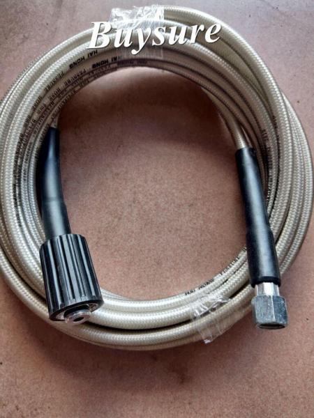 Dây máy rửa xe cao áp trực tiếp 1 đầu ren 22mm 1 đầu 14 mm