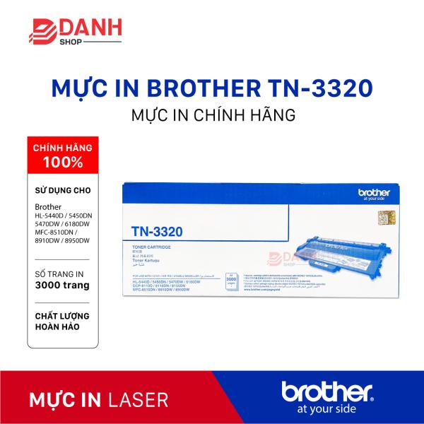 Bảng giá Mực in Laser Brother TN 3320 for Brother HL-54xx/ MFC-8910DW CHÍNH HÃNG Phong Vũ