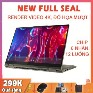 (NEW 100% FULL SEAL) Lenovo Yoga 6, cảm ứng 2-trong-1, Ryzen R5-4650U, RAM 8G, SSD NVMe 256G, VGA AMD Vega 6, màn 13.3 FullHD IPS, sáng 300 nits thumbnail