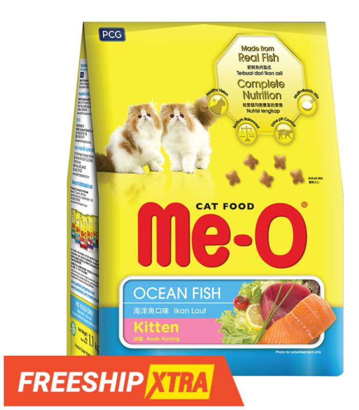Thức ăn cho mèo con Me-o Kitten ( túi 1,1kg)