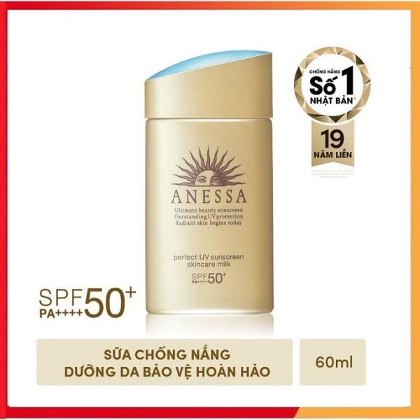 (💥DATE 2024 MỚI NHẤT💥) Kem Chống Nắng Shiseido Anessa 60ml Perfect UV Milk.