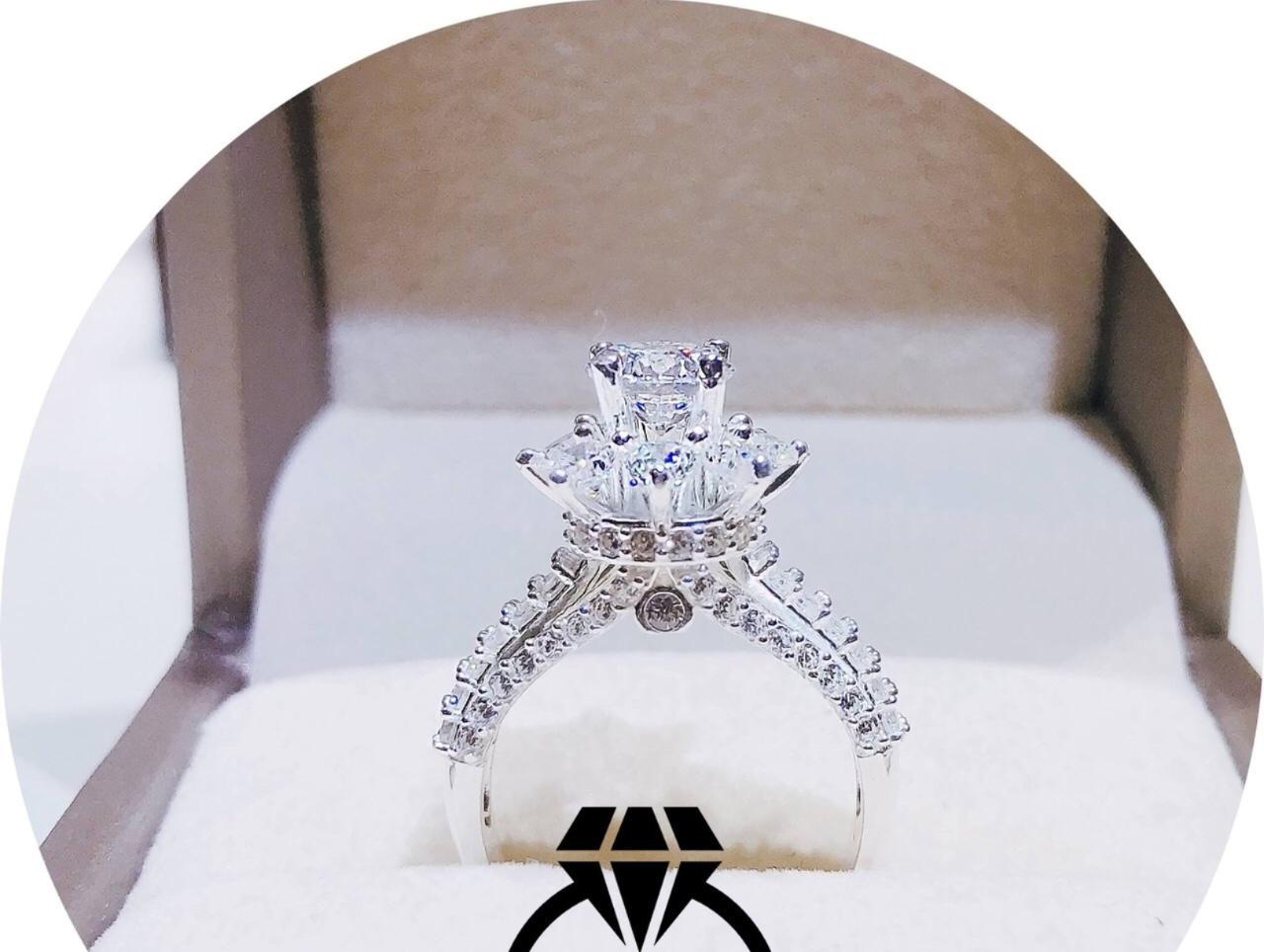 [ Nhẫn Nữ Cao Cấp, Chất Liệu Bên Trong Lõi Bạc Thái Vĩnh Viễn Không Đen ] Givishop - N260561 - Dùng Đi Tiệc Tôn Lên Vẻ Đẹp Của Phụ Nữ , giá bạc trang sức, nhẫn bạc trơn, trang sức bằng bạc, nhẫn cặp bạc, nhẫn bạc cặp, nhẫn đôi bạ