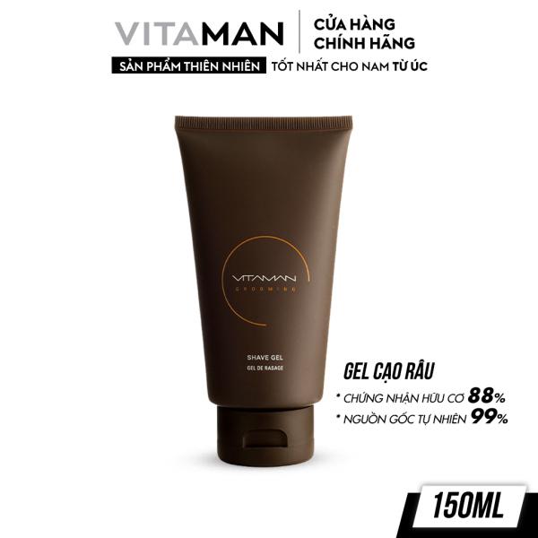Gel Cạo Râu Dành Cho Nam Vitaman Grooming Shave Gel 150ml