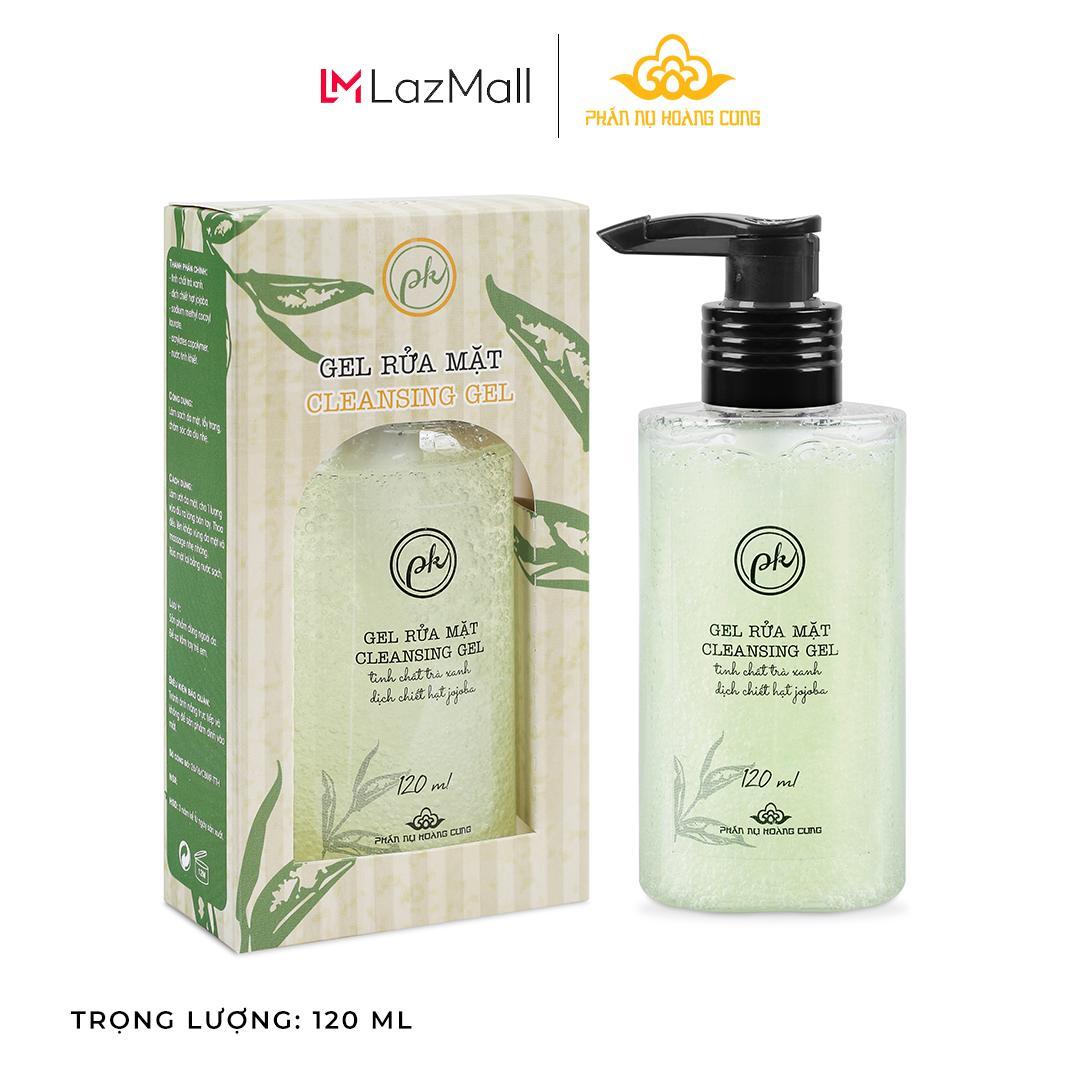 Gel Rửa Mặt Phấn Nụ Hoàng Cung-Làm sạch, tẩy trang nhẹ nhàng, không lấy đi độ ẩm tự nhiên của da, không làm khô da.