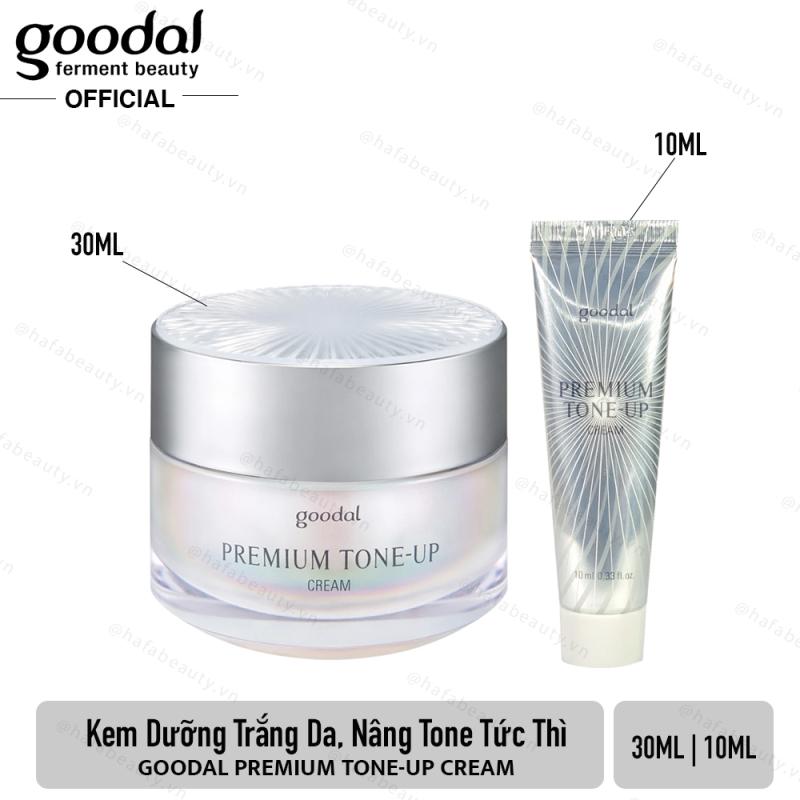 [HCM][Mẫu mới] Kem ốc sên dưỡng trắng da và nâng tone da Goodal Premium Tone-Up Cream _ Goodal Chính Hãng