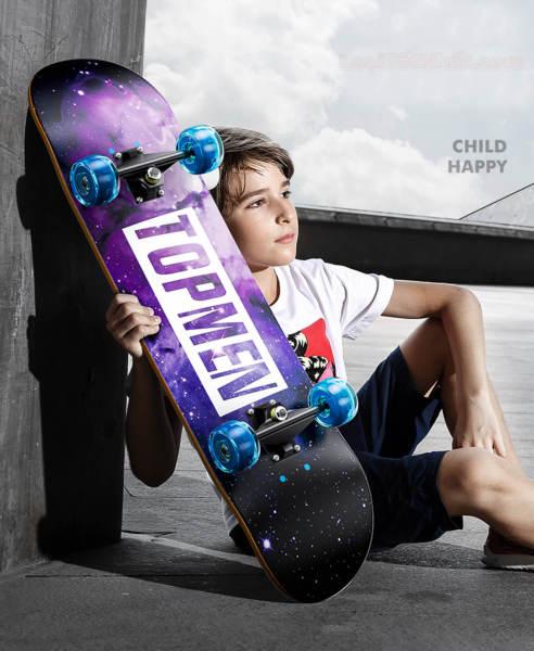 Mua thế giới ván trượt- Ván trượt Skateboard Cougar chính hãng GIÁ RẺ - Môn thể thao đường phố cực kỳ năng động- Đẹp mắt, chắc chắn, an toàn dành cho bé cho bé.