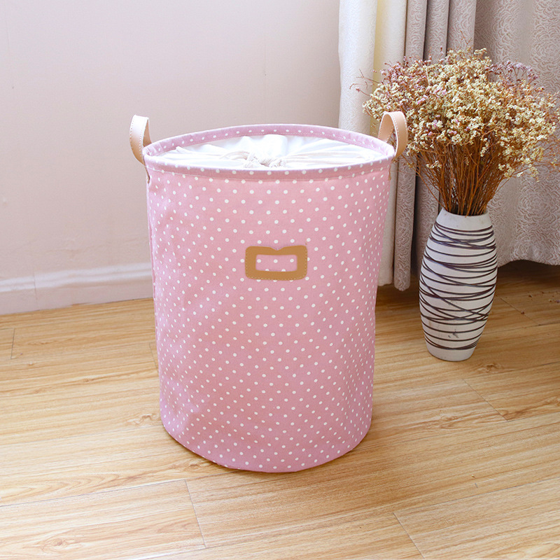 Không Thể Bỏ Qua Giá Hot với Waterproof Laundry Hamper Bag Colorful Clothes Storage Baskets Home Clothes Barrel Kids Toy Storage Laundry Basket
