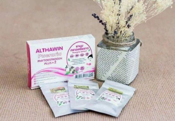 Viên Uống Nở Ngực Althawin Thái Lan Hộp 30 Viên giá rẻ