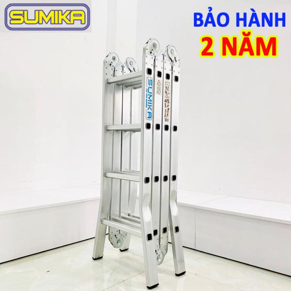 Thang nhôm gấp 4 đoạn đa năng Sumika SK604 - 4.7M (BẢO HÀNH 2 NĂM)