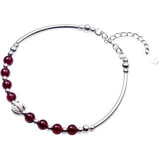 Vòng tay bạc nữ S925 Vòng tay nữ bạc hạt trân châu to L2539 Bảo Ngọc Jewelry thumbnail