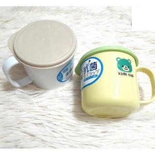 Cốc uống nước của Nhật Bản có nắp đậy cho trẻ em 200ml thumbnail