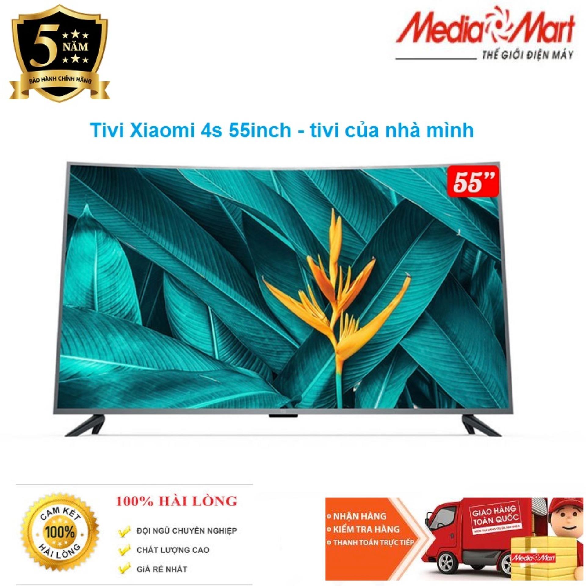 Bảng giá Smart TV Xiaomi 4S 55inch màn hình Cong
