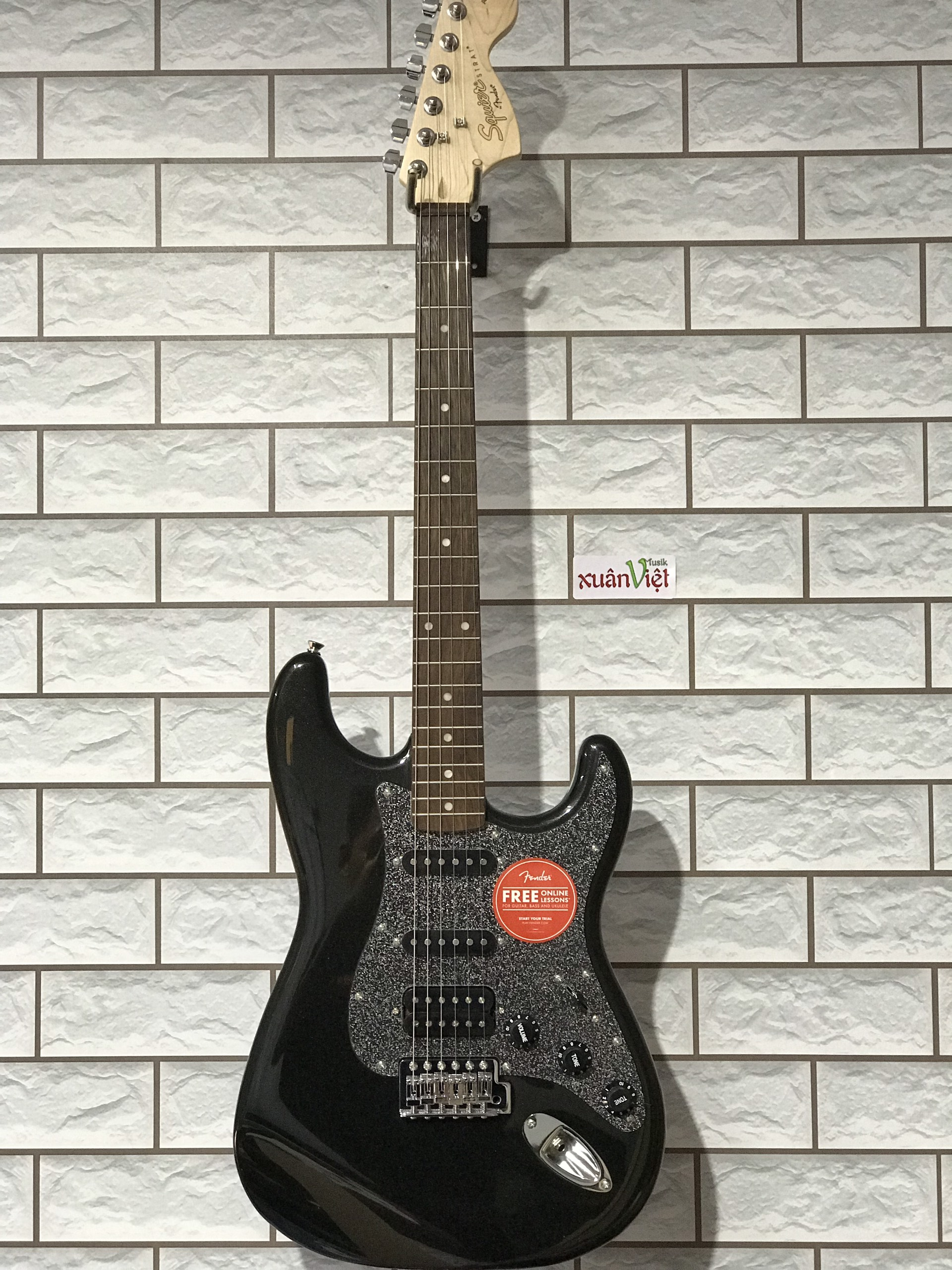 Đàn Guitar Điện SQ AFF STRAT HSS LRL MBK