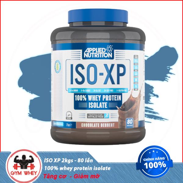 Sữa Dinh Dưỡng Giúp Tăng Cơ Bắp Applied Nutrion Whey Iso XP 2kg 80 lần dùng nhập khẩu