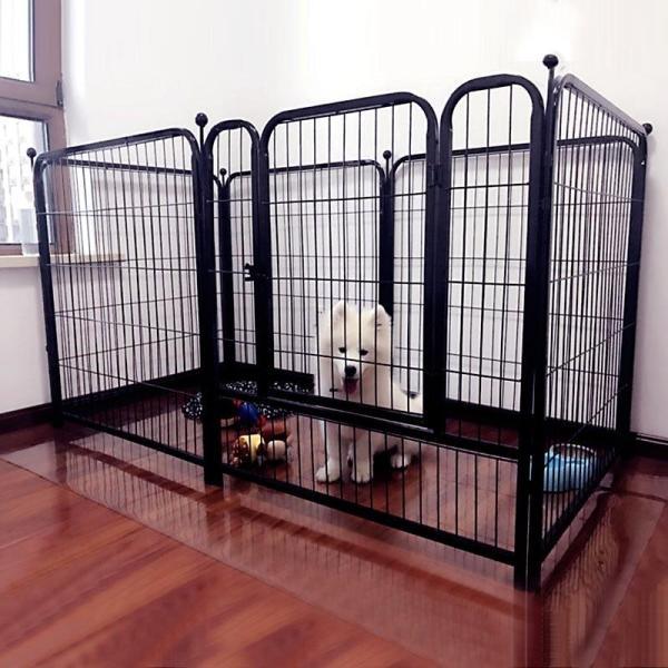 Chuồng quây ghép 6 tấm sơn tĩnh điện dành cho chó - CutePets