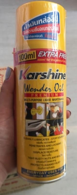 DẦU CHỐNG SÉT ĐA NĂNG KARSHINE (Wonder Oil) 200ml