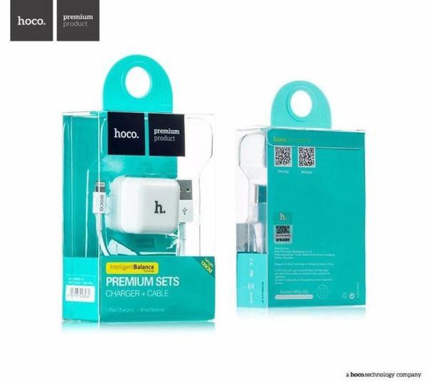 Bộ củ sạc Hoco UH101 kèm cáp sạc lightning dành cho Iphone/Ipad, bộ sạc điện thoại Iphone, củ sạc vuông iphone, củ sạc tường điện thoại, củ sạc USB, Củ iphone 1A, củ sạc iphone 7