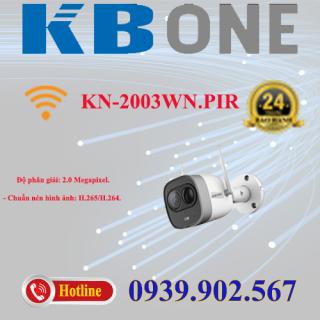 Camera IP hồng ngoại không dây 2.0 Megapixesl KBVISION KN-2003WN.PIR thumbnail