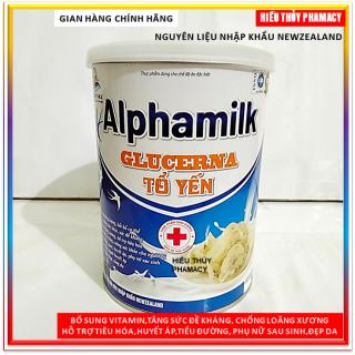 Sữa bột Alphamilk Glucerna Tổ Yến 450g ,tăng cường sức đề kháng , hỗ trợ xương khớp,tiêu hóa ,tưng cường sức khỏe cho người tiểu đường ,gout, huyết áp, đẹp da- Nguyên liệu nhập khẩu Newzealand thumbnail