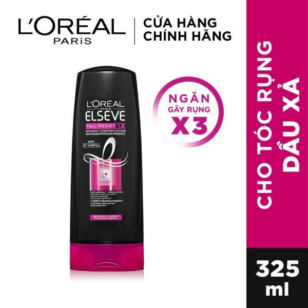 Dầu xả ngăn gãy rụng tóc LOreal Paris Elseve Fall Resist 3X Conditioner 325ml giá rẻ
