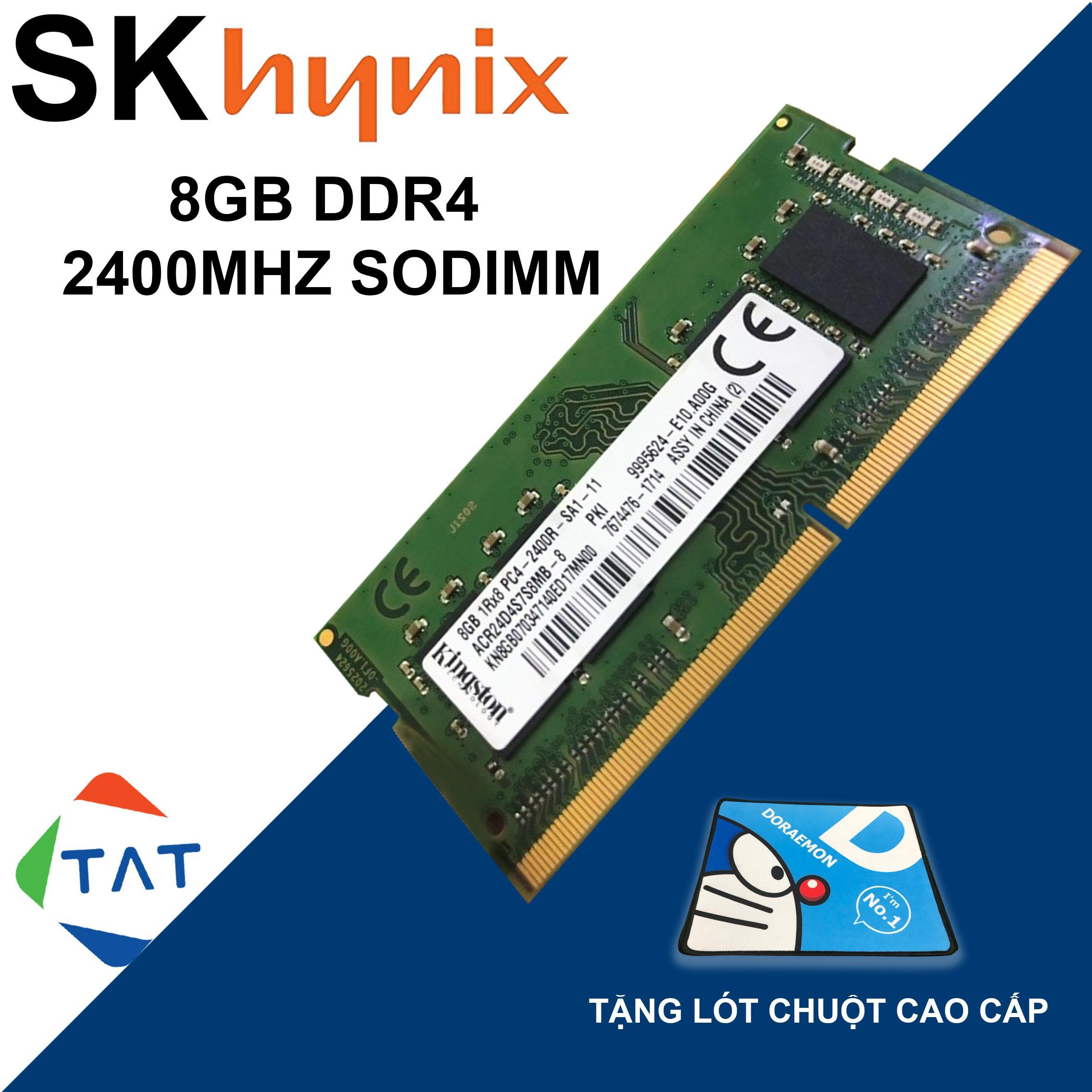 Giá RAM Hynix 8GB DDR4 Bus 2400MHz 1.2V Dùng Cho Laptop Macbook Bảo Hành 36 Tháng 1 Đổi 1