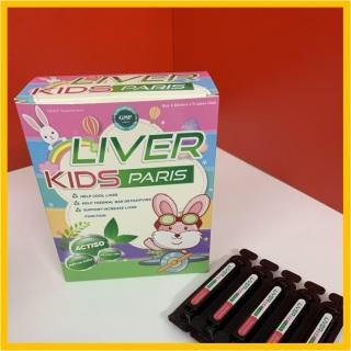 Ống uống tiêu độc mát gan giảm ngứa giúp bé ngủ ngon ăn ngon Live Kisd Paris 20 ống thumbnail